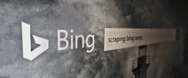 Scrape Bing Search